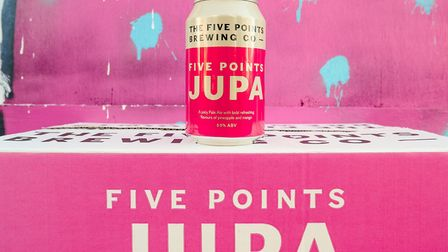 Five Points Brewing Company's new pale ale, Jupa.