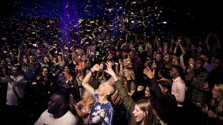 Deaf Rave 15 year anniversary party at The Dome in London's Tufnell Park. Picture: Abbie Trayler-Smi