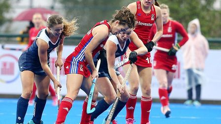 GB lost to Australia at the Champions Trophy in China