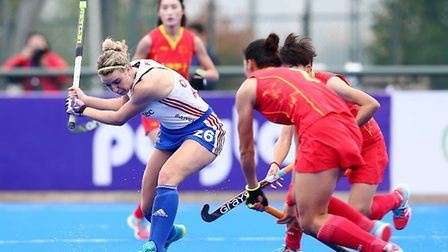 Great Britain drew with China at the Champions Trophy