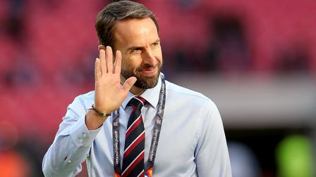 England manager Gareth Southgate before the UEFA Nations League, Group A4 match at Wembley Stadium,