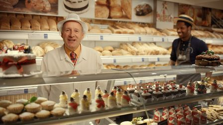 Christopher Freeman from Dunn's Bakery in Crouch End in the Visa Advert. Picture: Visa