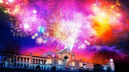 The majority of tickets have already been sold for the fireworks show at Alexandra Palace.