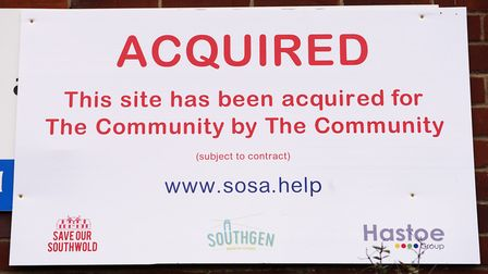 Save Our Southwold, propelled by its community benefit arm SouthGen, has been handed the keys to the