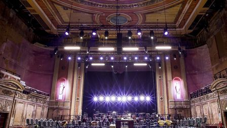 Restoration of the Victorian Theatre at Alexandra Palace