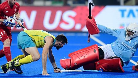 England lost to Australia at the World Cup in India (pic England Hockey)