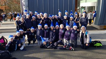 Camden Swiss Cottage Swimming Club youngsters at the Arena League national final