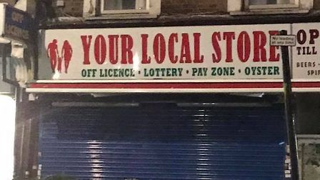 This Hornsey off-licence was called 'Alcoholic', but has changed its sign after a community backlash