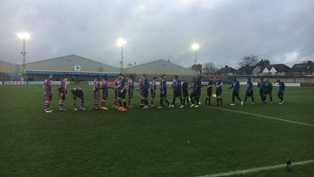 Wingate and Finchley beat Corinthians Casuals 2-0 at the Maurice Rebak stadium. Photo: Liam Coleman
