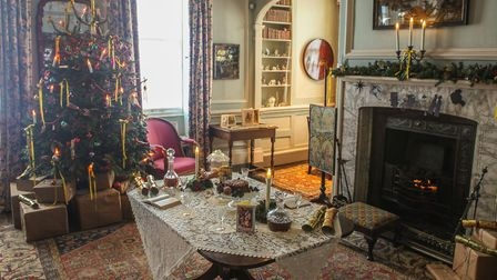 Fenton House's Christmas time-travelling experience. Picture: Fenton House