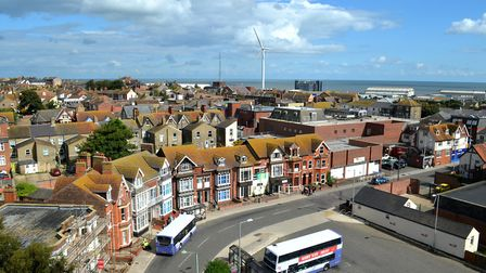 Last year's Heritage Open Days celebration in Lowestoft. Views from the top of the The RC Church in