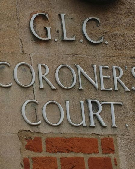 The entrance to Poplar Coroner's Court in east London. Picture: Stefan Rousseau/PA Archive
