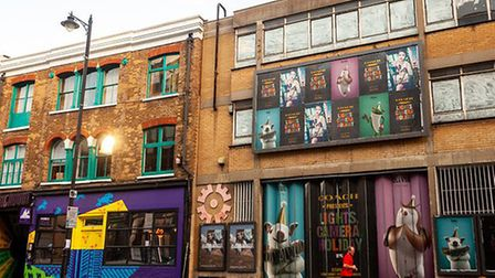 Strongroom and 118 Curtain Road which could be developed. Picture: Mike Banks