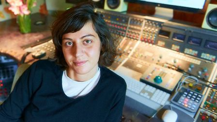 Producer and engineer Marta Salogni at Strongroom. Picture: Mike Banks