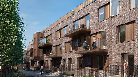 Hackney Gardens features a collection of stunning flats starting from �575,000. On the market with S
