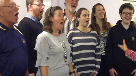 Come and Sing! Special singing day to be held. Picture: Courtesy of Shirley Smith