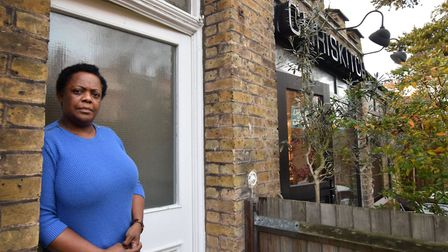 Felicia Montouth lives next door to ChrisKitch in Muswell Hill. Picture: Polly Hancock