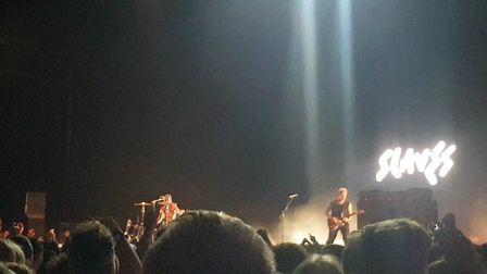 Slaves played their biggest headline show to date at Alexandra Palace on Saturday, November 24.