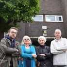Residents in Auden Place, Primrose Hill, who are considering legal action over their new parking cha