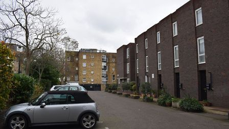 Auden Place in Primrose Hill. Picture: Oliver Telling
