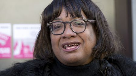 Shadow home secretary Diane Abbott, MP for Hackney North and Stoke Newington. Picture: PA / Isabel I