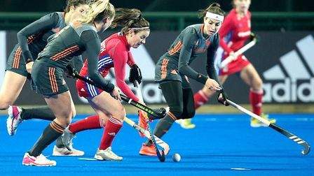 Great Britain lost to the Netherlands at the Champions Trophy in China (pic England Hockey)