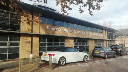 The Homerton Hospital. Picture: Archant