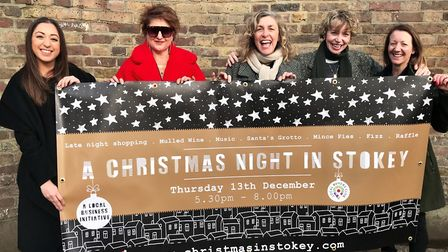 Some of the traders in Stoke Newington who will be opening late for Christmas shopping.