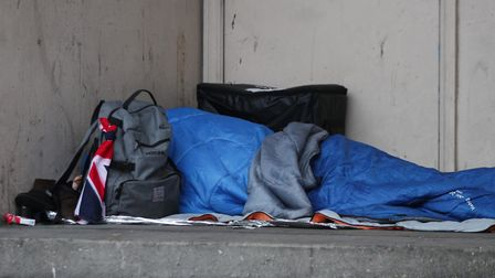Homelessness is on the rise in the borough. Picture: Yui Mok/PA Wire