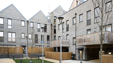 The new homes in King Edward's Road. Picture: John Macdonald-Fulton/ JMFfoto