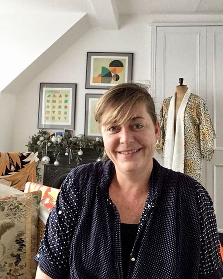 Rebecca Cadbury works out of her home studio in Muswell Hill