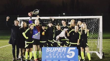 Hackney Super5League Beginners Division Champions Whippets (pic: Hackney Super5League)