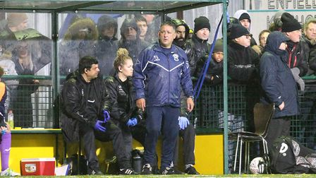 Haringey Borough manager Tom Loizou (pic: George Phillipou/TGS Photo)