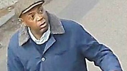 This man is wanted in connection with two Golders Green burglaries. Picture: Met Police