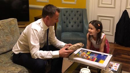 Nazanin Zaghari-Ratcliffe had knitted dolls for her daughter Gabriella and Jeremy Hunt's own daughte