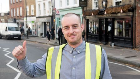 The new licensee at the Prince of Wales pub in Highgate. Picture: Matt Grayson / Star Pubs