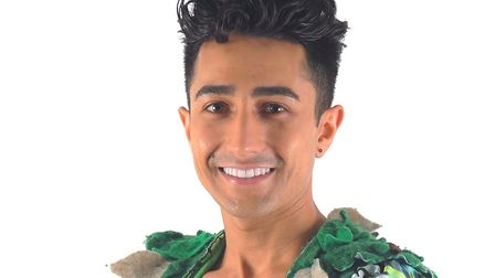 Singer Anthony Sahota will join the Marina Theatre panto cast. Picture: Courtesy of Paul Holman Asso
