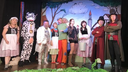 Hackney Players' are putting on a production of 'Jack and the Beanstalk'. Picture: Michael Davies