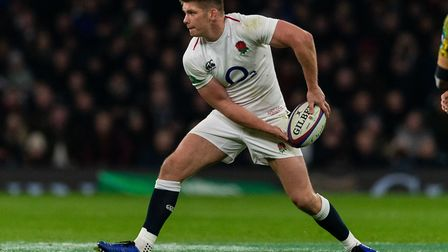 Owen Farrell is one of seven Saracens players in the England squad for their Six Nations match again