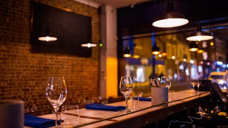 Inside this cosy and intimate new restaurant. Picture: Jose Sarmento Matos