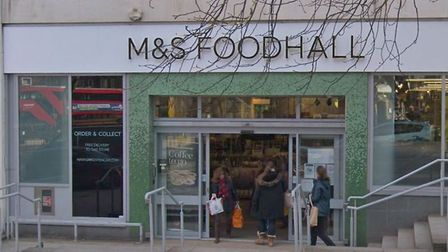 Marks and Spencer in Pond Street, Hampstead. Picture: Google