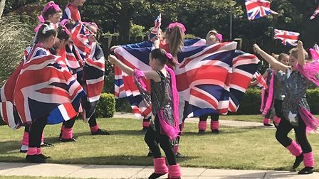 Entertainment was provided by the Fay Bedford Dance School as Oulton Park Care Centre celebrated the