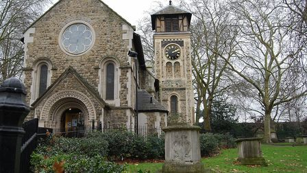 St Pancras Old Church. Picture: Wikimedia Commons