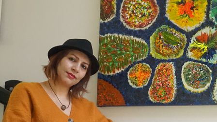 Nazzi, an Arlington resident whose artwork is on show at the Royal Academy of Arts. Picture: One Hou