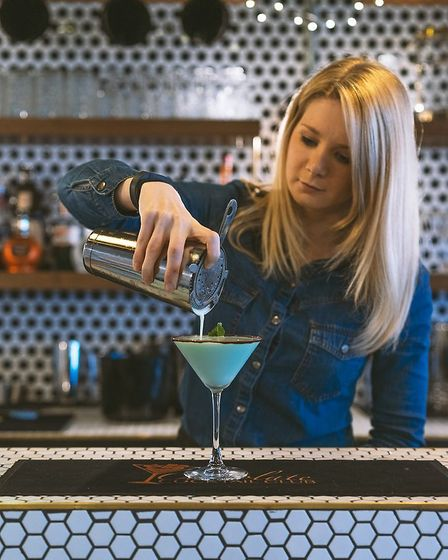 Rachel Wisson is a co-founder of the Chocolate Cocktail Club. Picture: Xavier D. Buendia