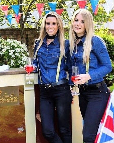 Holly Brooks and Rachel Wisson, co-founders of the Chocolate Cocktail Club