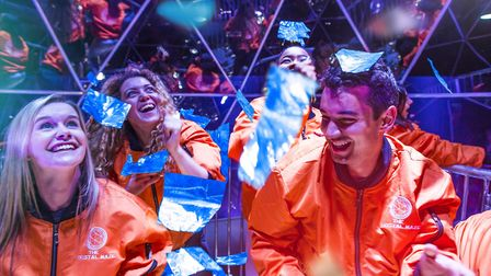 Crystal Maze LIVE offers an action-packed and ridiculously fun day out in Angel. Picture: Crystal Ma