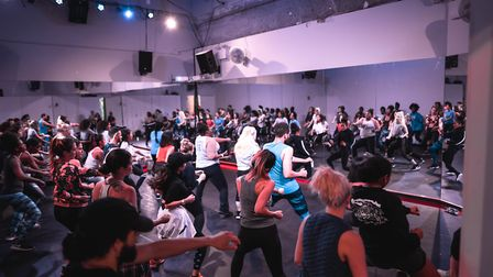 At Your Beat dance fitness sessions have come to Hackney. Picture: Kenichi Kasamatsu