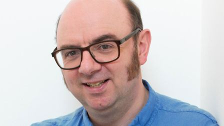 Author Dean Parkin. Picture: Courtesy of the Poetry People