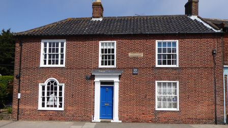 Montague House, where George Orwell lived in Southwold. Picture: Chris Ure